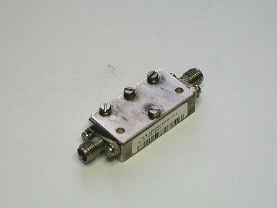 X band 10 ghz microwave filter amateur 9.6 to 10.6 ghz