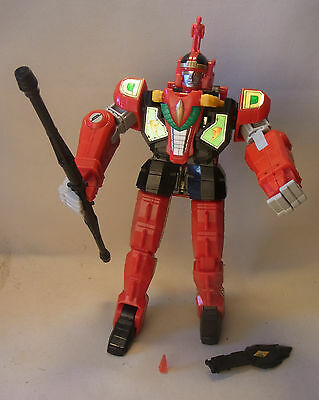 Vintage 90s MMPR Power Rangers RED DRAGON Thunderzord 1994 BANDAI