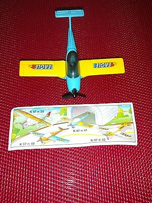 Vintage Kinder Ferrero Surprise Egg Toy –  Airplane, Rare