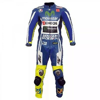 Valentino Rossi VR46 Motorbike Racing Leather Suit