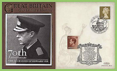 G.B. 2006 70th Anniversary of The Accession of Edward VIII commemorative Cover