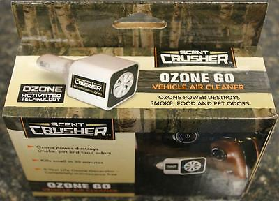 NEW Scent Crusher Vehicle Ozone GO Generator DC Power Odor Eliminator 59902