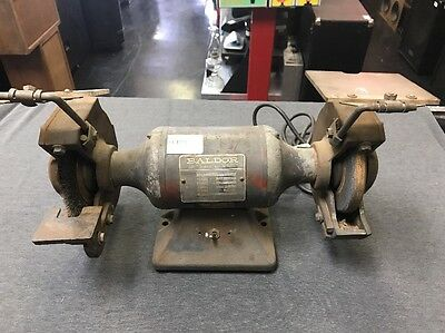 "Baldor Bench Wheel Grinder 6"" dia 1/3 HP 115V 623E (USED) Free Ship"