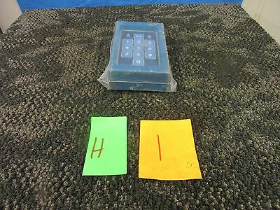 Monaco 10 Digit Security Access Keypad All Weather Tamper Proof Military Nos New