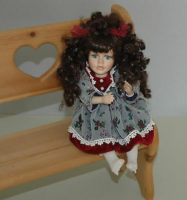 The Collector's Choice Series By DanDee Porcelain Bisque Doll Musical & Movement