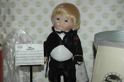 Campbell Soup Kids Series 125 Years Porcelain Doll Orchestra 1994 Collectible
