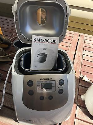 Kambrook Bread Maker With Manual Can Post