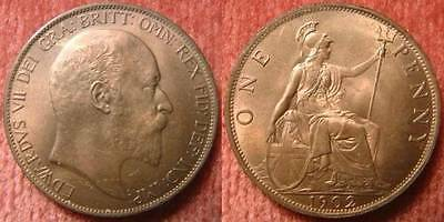 Edward Vii One Penny 1902 - 1910 Select Year Buy 2 Get 1 Free #tt