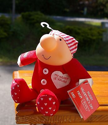 1990 Ziggy My Heart Is Yours Huggy Valentine's Day Plush Toy by Tom Wilson
