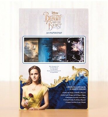 Disney Beauty and The Beast Theatrical Backing Papers Sample Pack