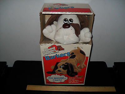 New! Pound Puppies Barkers - Whimpers Begs Tonka 1987 Collar Puppy Care Sheet