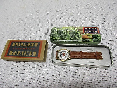 Lionel Train Collectible Watch with Tin & Box