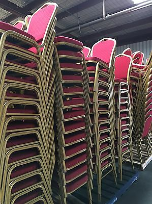 Stackable Restaurant/ Function Centre Upholstered Dining Chairs