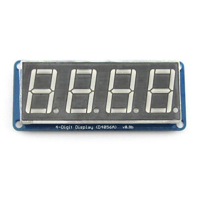 "0.56"" 4 Digit 8 segment LED Display D4056A Module w/ Decimal Point for Arduino"