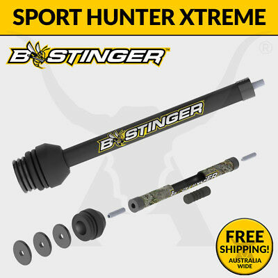 Bee Stinger Sport Hunter Xtreme Stabilizer - Front Bar 3D Archery and Hunting