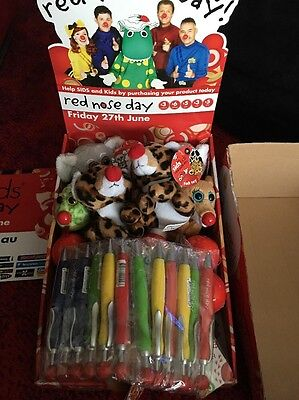 SIDS & KIDS RED NOSE DAY Box (lots If Toys)