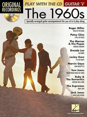 Play with the CD - Volume 4 The 1960s - Guitar Music Book with CD