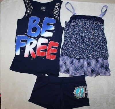 JUSTICE  Lot Tops / Shorts Summer Clothes Girls Size 16 NEW!