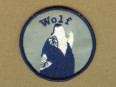 Howling Lone Wolf Cloth Patch, Wolves