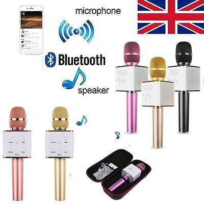 Q7 Q9 Pro Bluetooth Wireless Karaoke Microphone Mic Speaker KTV Player for Phone