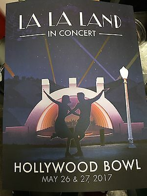 La La Land in Concert At The Hollywood Bowl Limited Poster