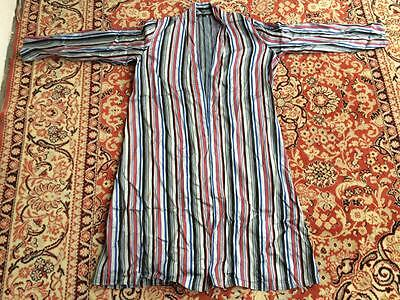 9 Antique Uzbek Vintage  Silk Robe Bekasam Chapan