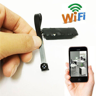 Wireless Mini Spy Nanny Cam WIFI IP Pinhole DIY Digital Video Camera Hidden DVR