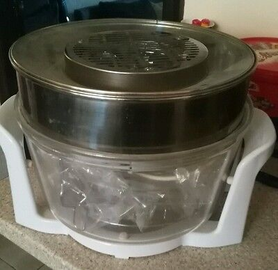 17 Litre Premium Halogen Convection Oven Cooker + Extender Ring