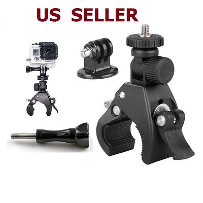 Accessory Bicycle Motorcycle Handlebar Tripod Mount Holder For Gopro Hero 5/4/3