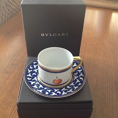 Collectable New Bvlgari / Rosenthal Cup & Saucer