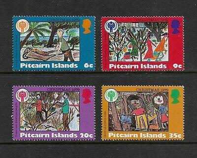PITCAIRN ISLANDS - mint 1979 Christmas Year of the Child No.2, set of 4 MNH MUH