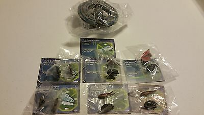 Star Wars Miniatures Starship Battles Small Separatist Fleet See pics!! 7 ships