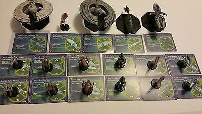 Star Wars Miniatures Starship Battles Large Separatist Fleet See pics!!