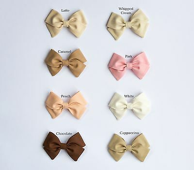 Fabric Baby Bow Headband Various Colors Baby Girls Newborn Toddler Bows Gift