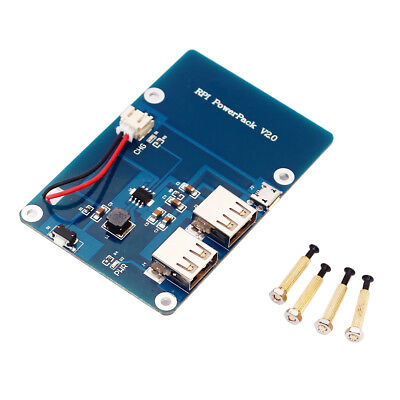 Blue Power Supply Expansion Board for Raspberry Pi 3 Model B