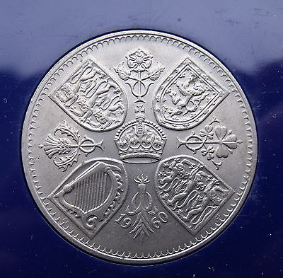 1960 Elizabeth II Crown Five Shilling 5/- Rare key date
