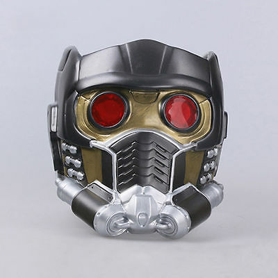 2017 Cosplay Guardians of the Galaxy Vol 2 Helmet Star Lord Helmet With LED