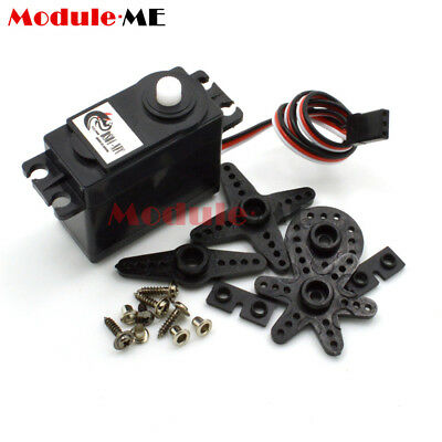 360 Degree Continuous Rotation Servos DC Geared Motor for RC Robots DS04-NFC M