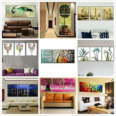 Large Set of Three Painting By Number Kit Canvas 3*40*50cm F3P001009 AU STOCK