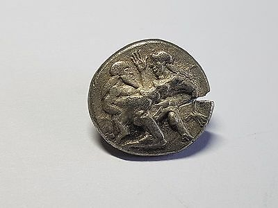 Ancient Greek Coins - Thasos - Satyr With Nymph Stater 500 Bc