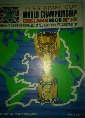 1966 world cup programme England