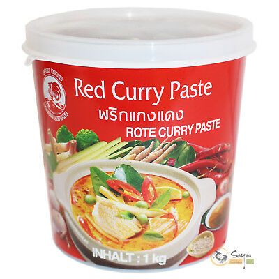 1kg Cock Rote Thai Currypaste Curry Paste Red scharf rotes Thaicurry