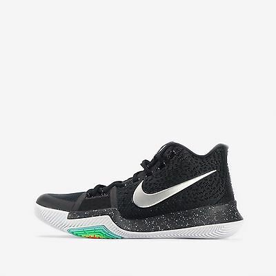 Nike Kyrie 3 Men's Basketball Shoes in Black/Metallic Silver