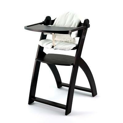 FIRST BABY SAFETY Chaise Haute Yaris Bois Wengé