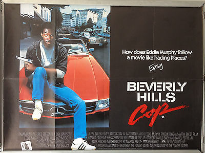 Cinema Poster: BEVERLY HILLS COP 1984 (Quad) Eddie Murphy Judge Reinhold