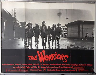 Cinema Poster: WARRIORS, THE 1979 (Quad) Michael Beck Walter Hill