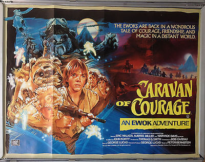 Cinema Poster: CARAVAN OF COURAGE AN EWOK ADVENTURE 1984 (Quad)