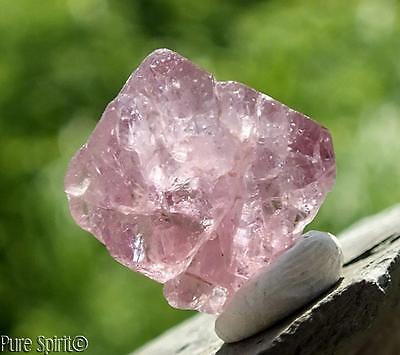 Raw Spinel Crystal DT Natural Point Purple/Pink Facet Rough Specimen 14ct 14mm