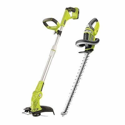 RYOBI Pack coupe-bordures 18V incluant taille-haies, 1 batterie lithium-ion et