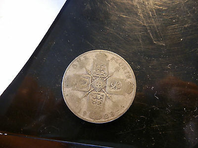1923 Great Britain Sterling Silver Florin George V